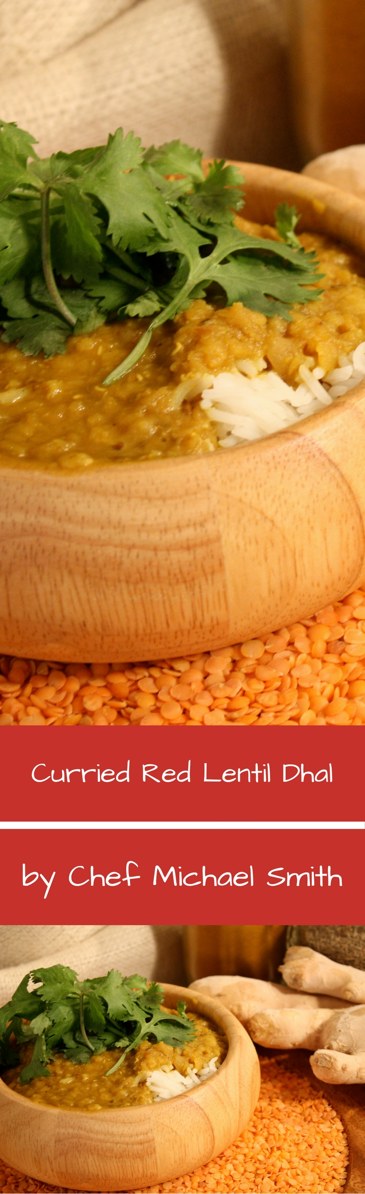 Curried Rice And Red Lentils Recipe — Dishmaps