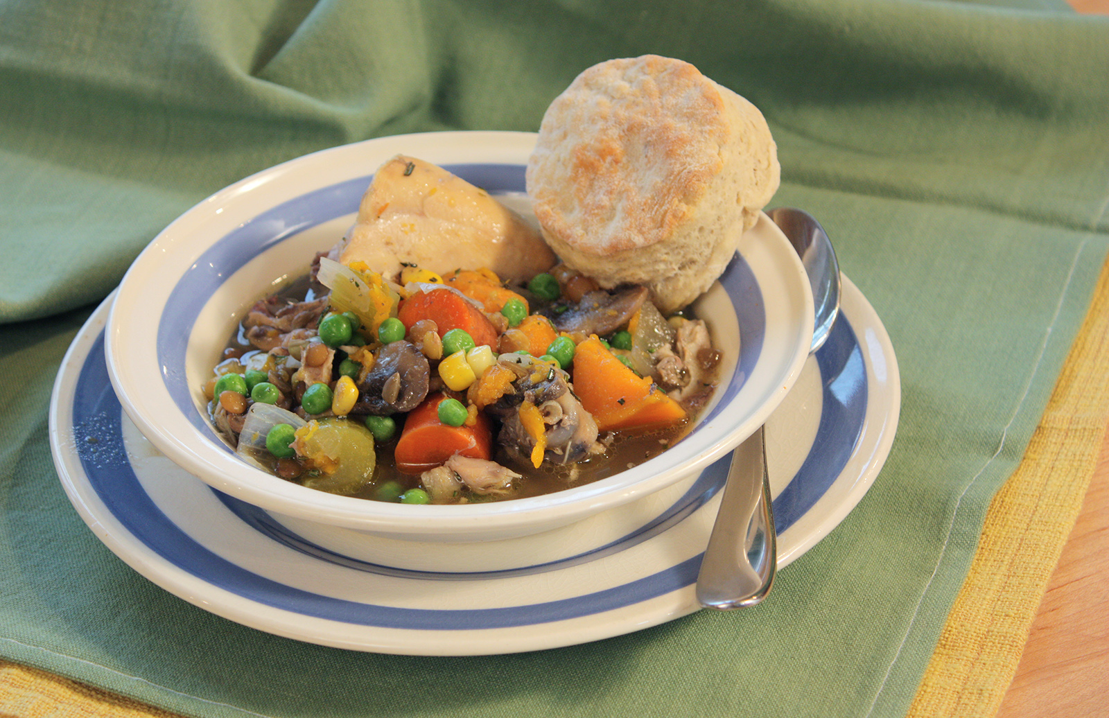 Slow Chicken & Lentil Stew By Chef Michael Smith