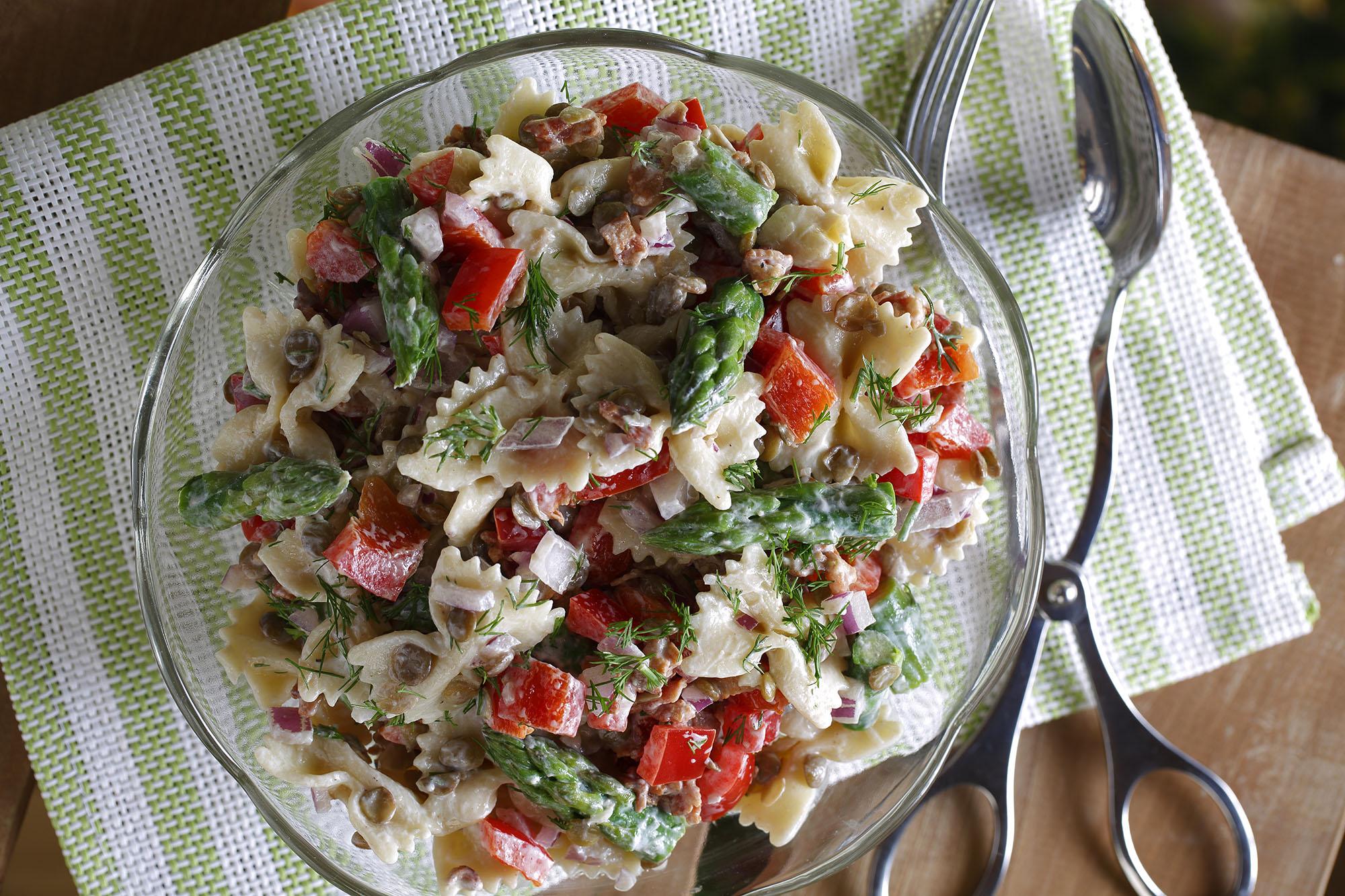Garden Pasta Salad – Lentils.org