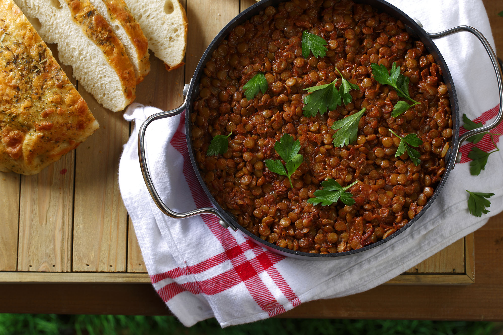 how to cook green lentils