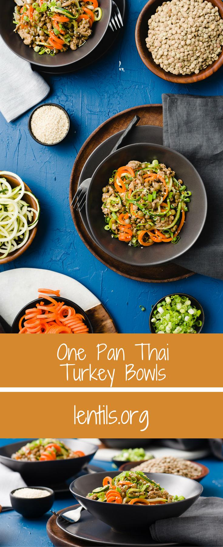Turkey Cooking Time 15 Lbs >> One Pan Thai Turkey Bowls – Lentils.org